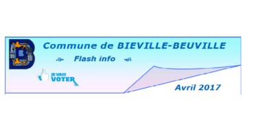Flash info d'avril 2017