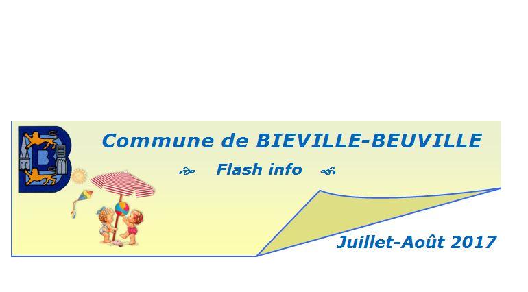 Flash info de juillet-août 2017
