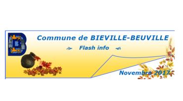 Flash info de novembre
