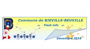 Flash info de décembre 2018