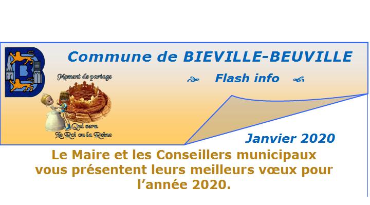 Flash info de janvier 2020