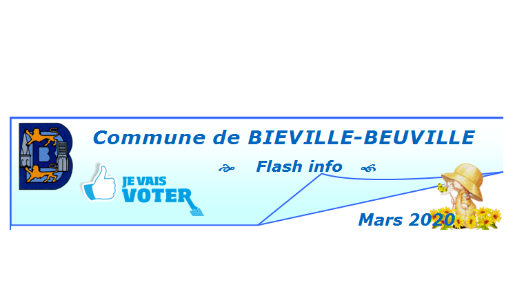 Flash info de mars 2020
