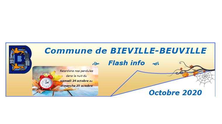 Flash info d'octobre 2020